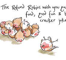 Rotund Robins by Drawesomeillus