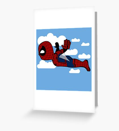 Spidey Homecoming Greeting Card