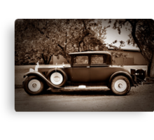 1929 Packard Coupe Canvas Print