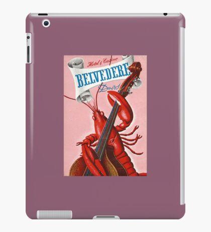 Hotel Belvedere Davos Switzerland Vintage Travel iPad Case/Skin