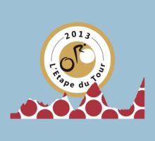 Red Polka Dot 2013 L'Etape du Tour Mountain Profile v2 by sher00
