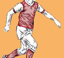 George Armstrong by ArsenalArtz