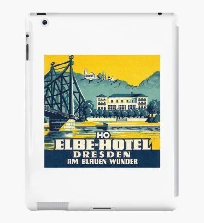 Hotel Am Blauen Wunder Drescen Germany Vintage Travel iPad Case/Skin
