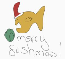 Merry Fishmas Kids Clothes
