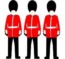 British Queen's Guard Photographic Print