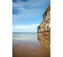 high cliffs of Ballybunion on the wild atlantic way Photographic Print