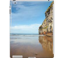 high cliffs of Ballybunion on the wild atlantic way iPad Case/Skin