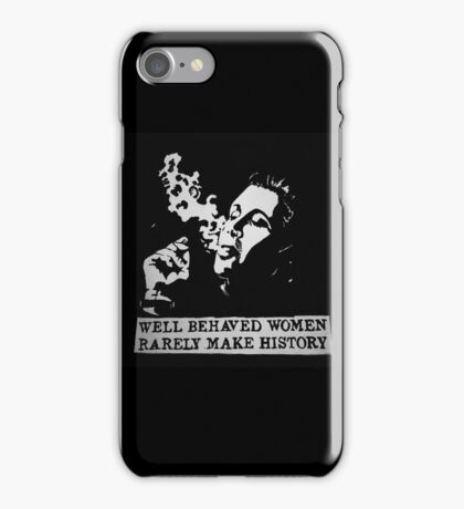 Carrie Fisher iPhone Case/Skin