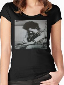Sid Vicious  Women's Fitted Scoop T-Shirt