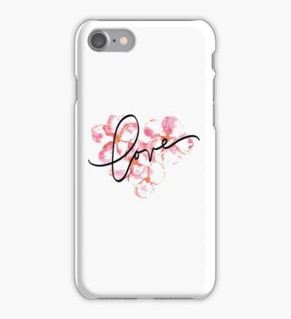 Plumeria Love iPhone Case/Skin