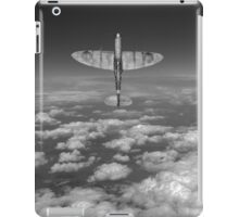 A cut above, black and white version iPad Case/Skin