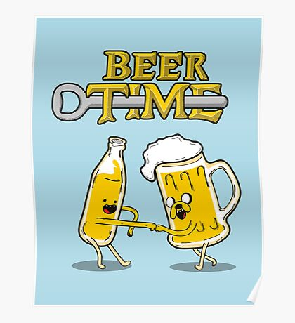 Beer Time c Poster
