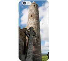 historic rock of Cashel ruins iPhone Case/Skin