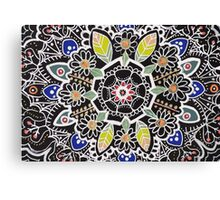 fleur indienne Canvas Print