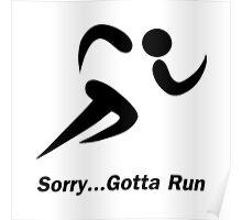 Gotta Run Poster