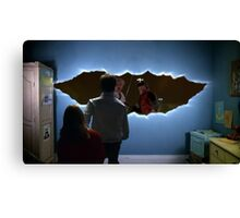 bttf doctor who Canvas Print