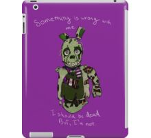 Five Nights At Freddy's - I Should Be Dead iPad Case/Skin