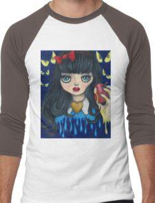 Snow White Men's Baseball ¾ T-Shirt