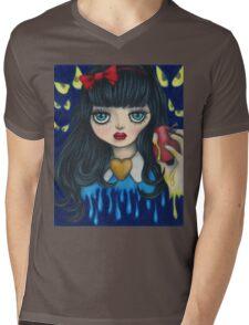 Snow White Mens V-Neck T-Shirt