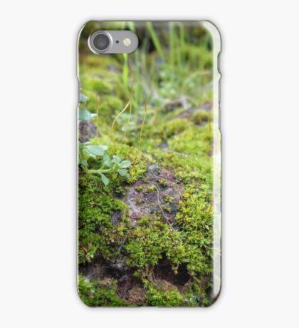 Hazy Moss iPhone Case/Skin