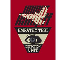 Voight-Kampff Empathy Test Photographic Print