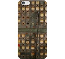 Steampunk - Phones - The old switch board iPhone Case/Skin