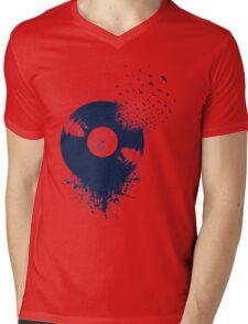 vinyl record Mens V-Neck T-Shirt
