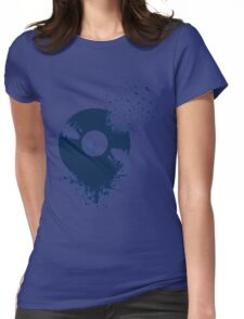 vinyl record Womens Fitted T-Shirt