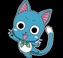 Fairy Tail Happy by minasazuku