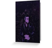 Bruce Wayne Greeting Card