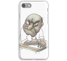 Angry about the rigged system. iPhone Case/Skin