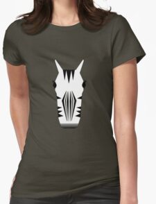 Zebra Womens Fitted T-Shirt