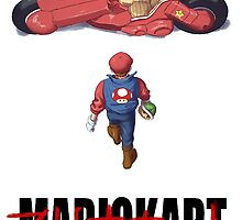 Mario Kart Akira by G-Spark