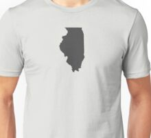 Illinois Plain Unisex T-Shirt