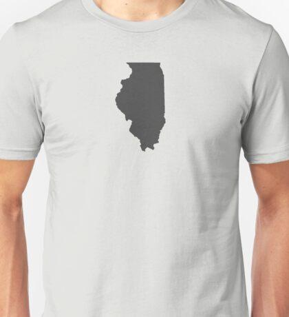 Illinois Plain Unisex T-Shirt