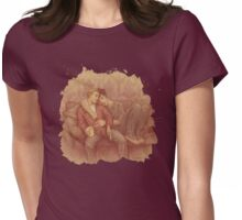 calm Womens Fitted T-Shirt