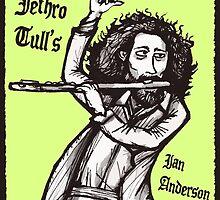 Jethro Tull's Ian Anderson by maroonbeard