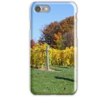 THE VINEYARD IN OCTOBER iPhone Case/Skin