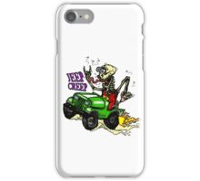 "Jeep Creep ""Rat Fink"" Style Skeleton iPhone Case/Skin"