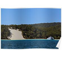 Summer on Moreton Island Poster