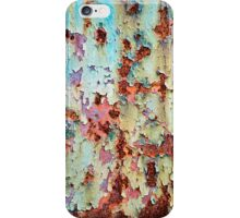 Abstract Paint Peeling iPhone Case/Skin