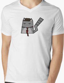 The Nostalgia Cat Mens V-Neck T-Shirt