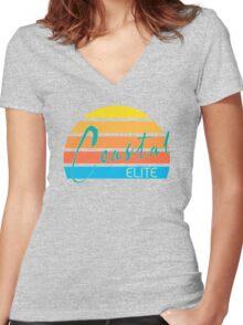 Coastal Elite Women's Fitted V-Neck T-Shirt