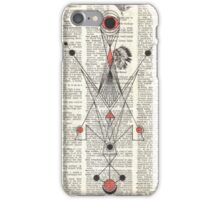 Aliens and Indians iPhone Case/Skin