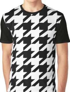 Houndstooth Graphic T-Shirt