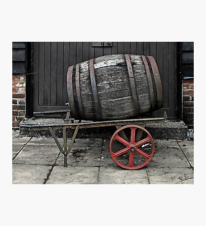 Roll out the Barrel Photographic Print