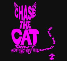 Chase the Cat - Cloud Nine (Pink) Unisex T-Shirt