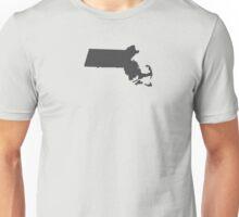 Massachusetts Plain Unisex T-Shirt