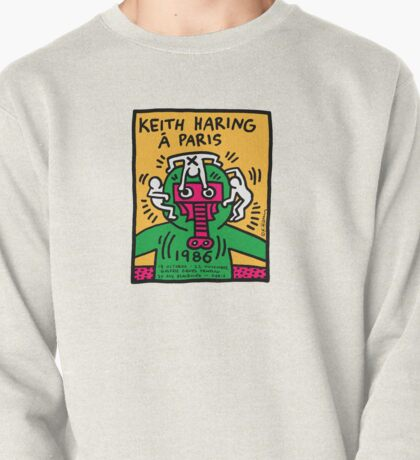 Keith Haring In Paris Pullover