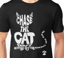 Chase the Cat - Cloud Nine (White) Unisex T-Shirt